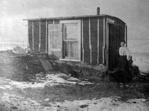 Flashback Friday: Carrie Ingalls & Her Tar Paper Shack