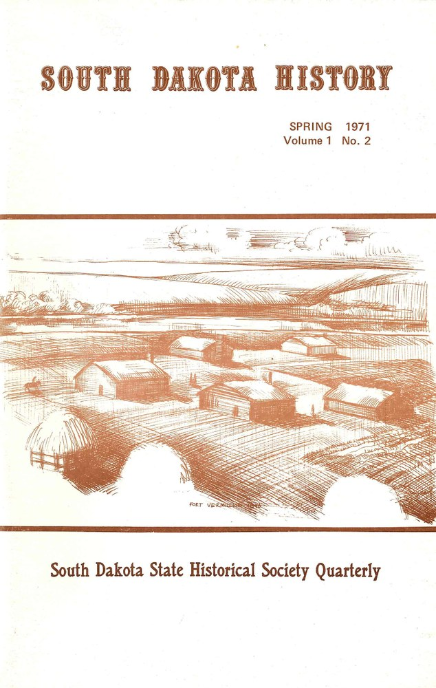 South Dakota History, volume 1 number 2