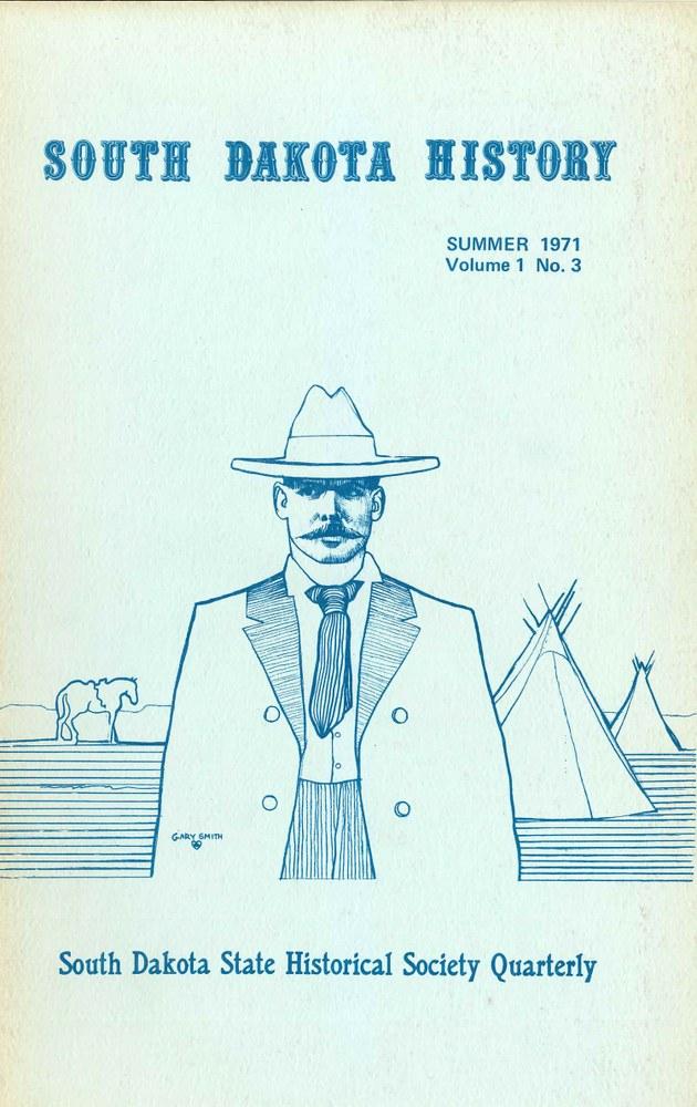 South Dakota History, volume 1 number 3