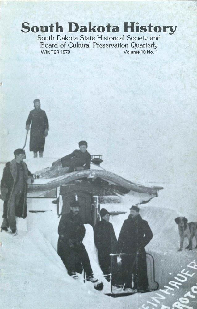 South Dakota History, volume 10 number 1
