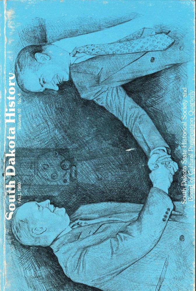 South Dakota History, volume 10 number 4