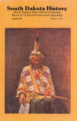 South Dakota History, volume 11 number 3