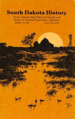 South Dakota History, volume 12 number 2