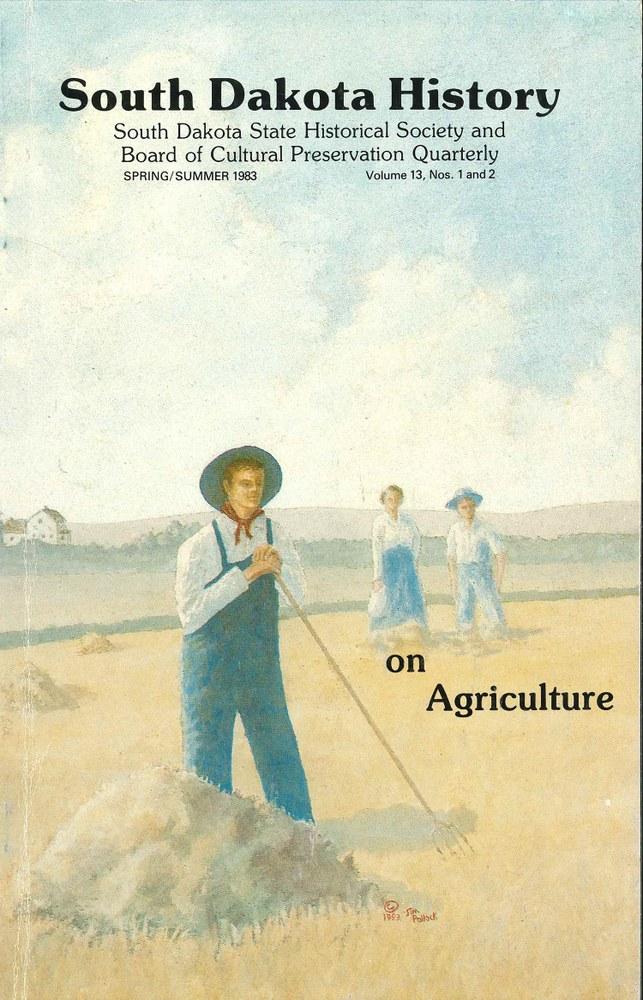 South Dakota History, volume 13 number 1