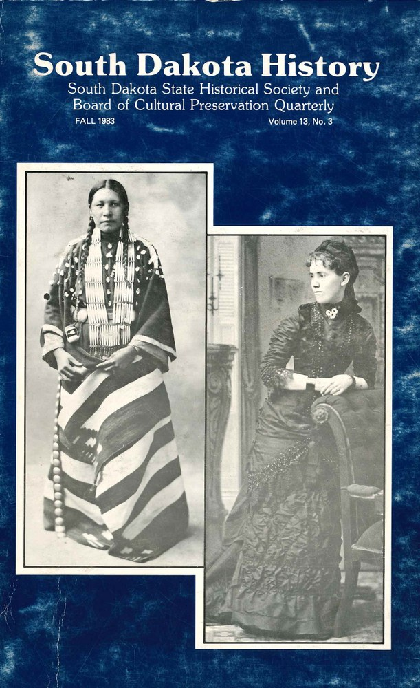 South Dakota History, volume 13 number 3