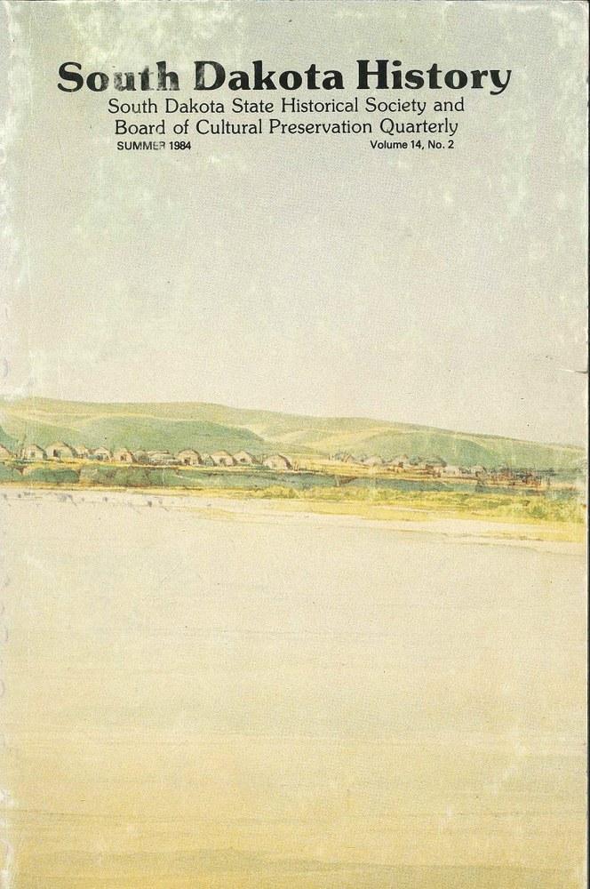 South Dakota History, volume 14 number 2