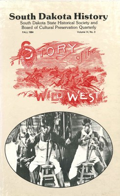 South Dakota History, volume 14 number 3