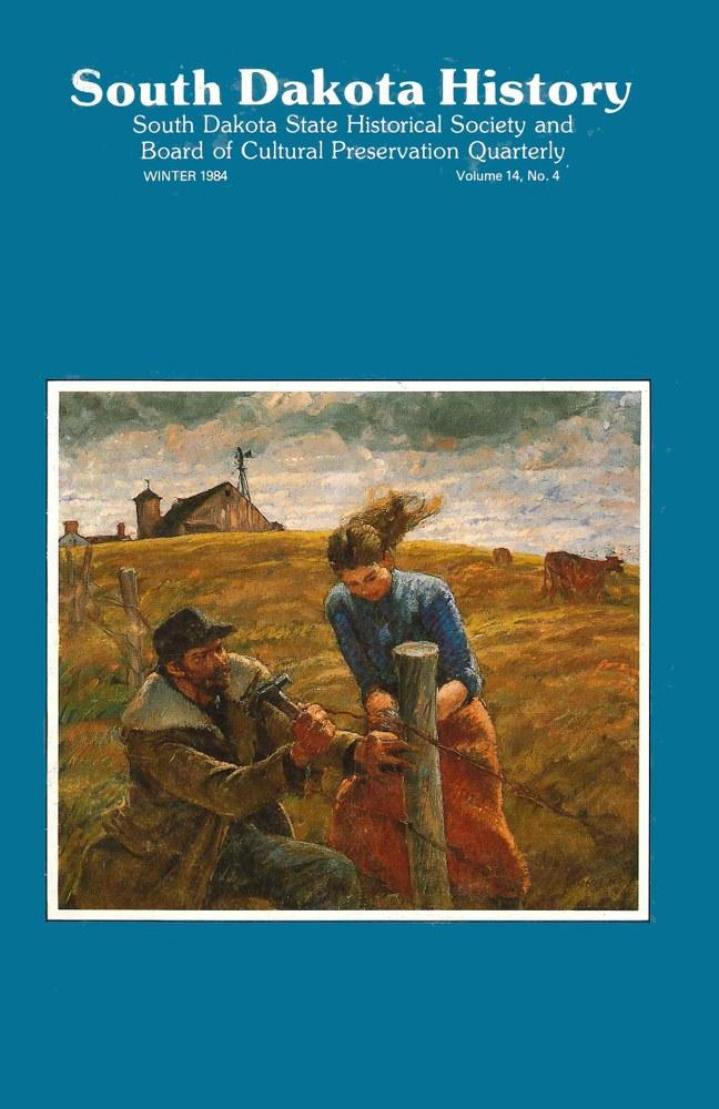 South Dakota History, volume 14 number 4