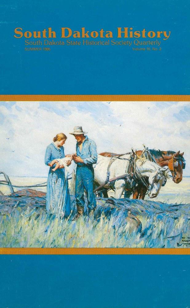 South Dakota History, volume 16 number 2