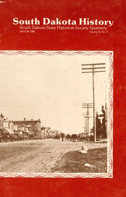 South Dakota History, volume 16 number 4