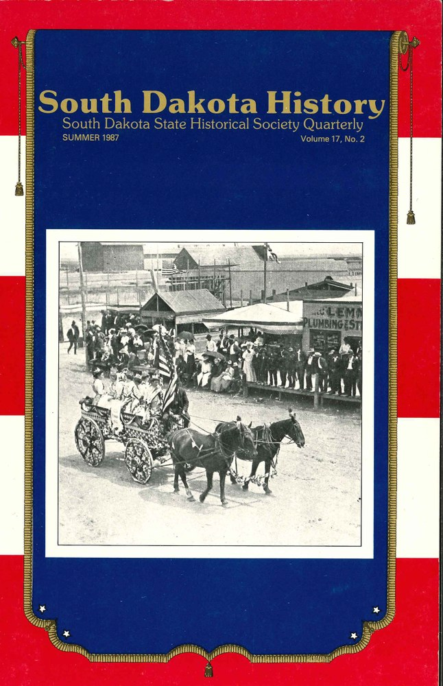 South Dakota History, volume 17 number 2