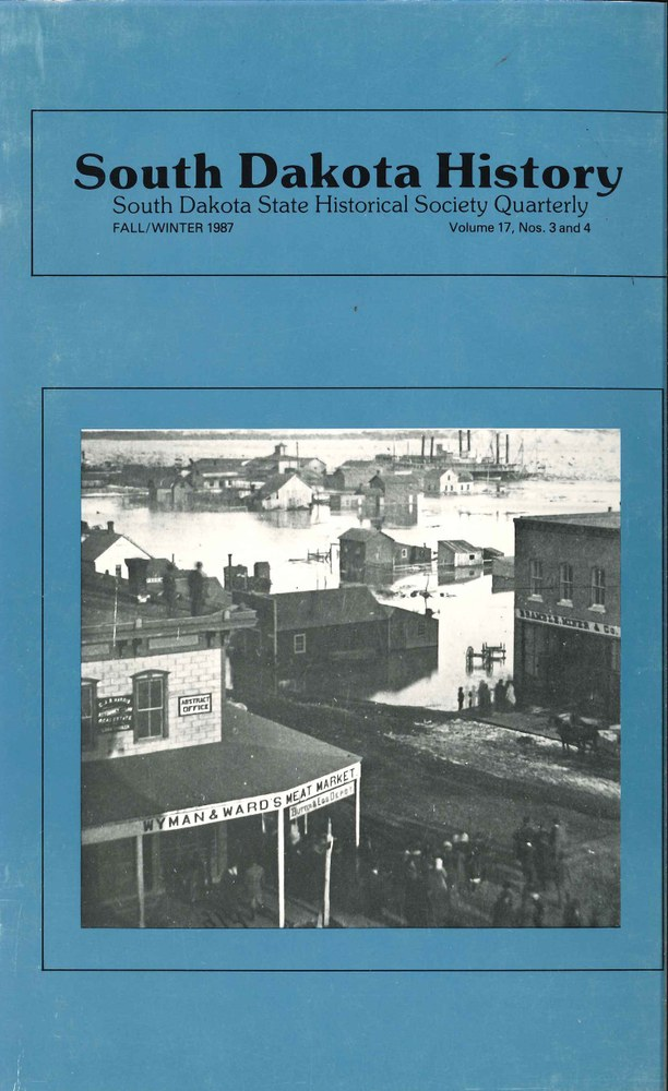 South Dakota History, volume 17 number 3