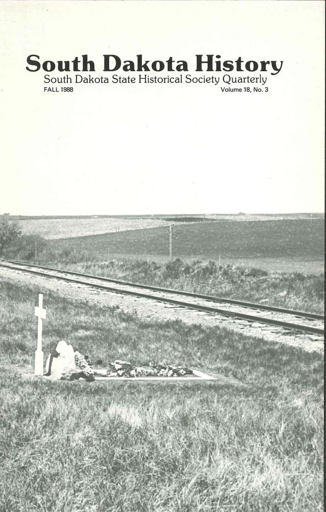 South Dakota History, volume 18 number 3