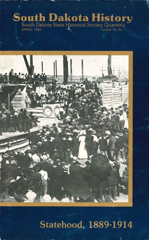 South Dakota History, volume 19 number 1