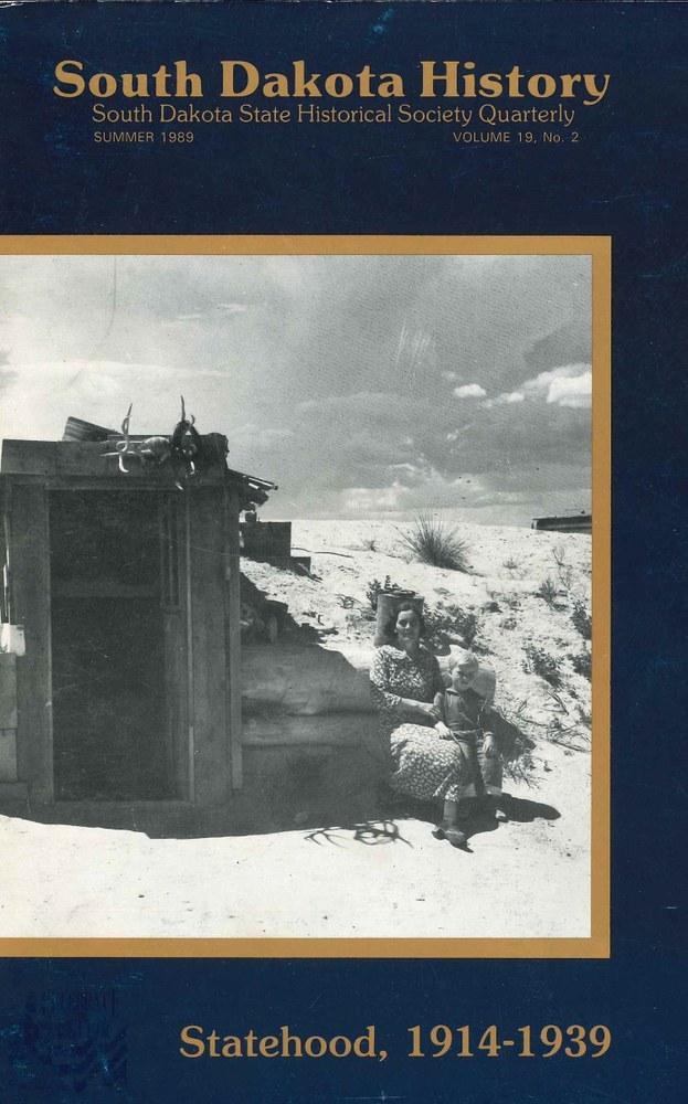 South Dakota History, volume 19 number 2