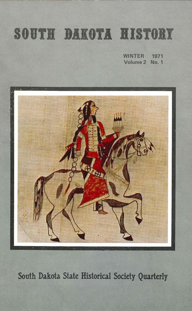 South Dakota History, volume 2 number 1
