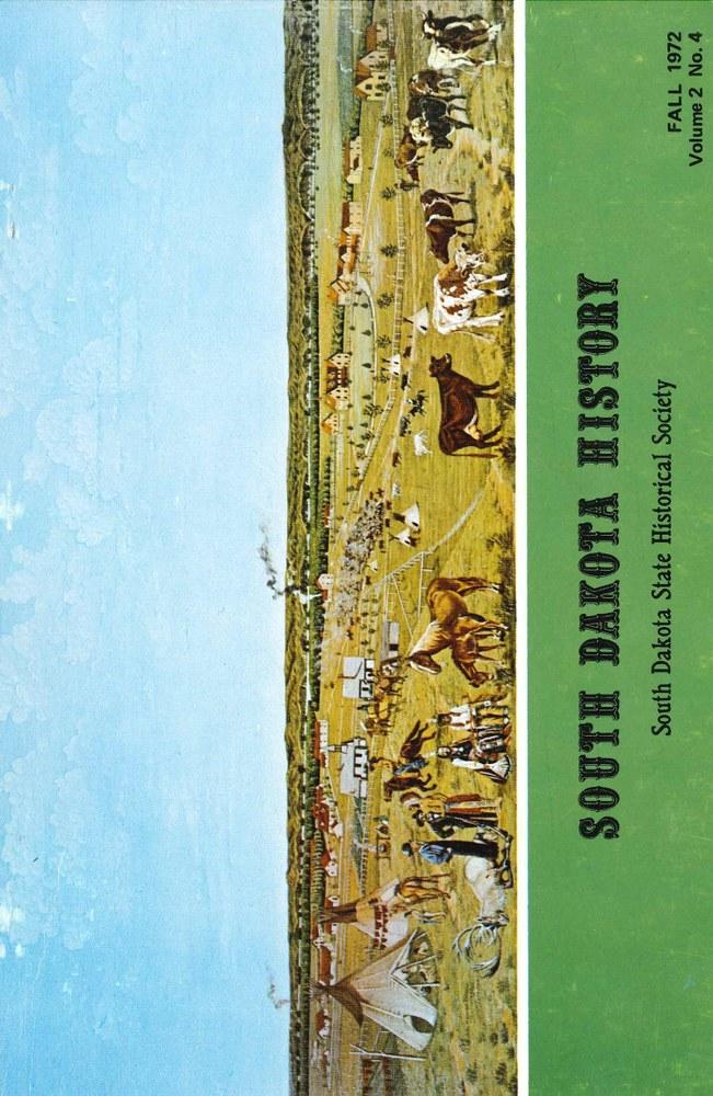 South Dakota History, volume 2 number 4