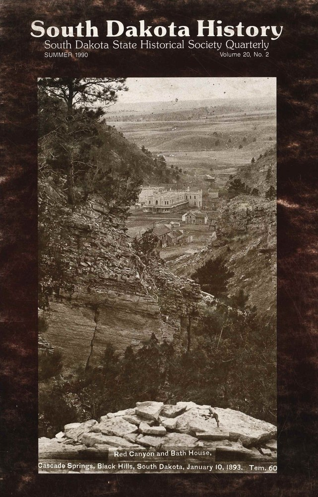 South Dakota History, volume 20 number 2
