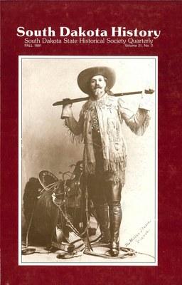 South Dakota History, volume 21 number 3
