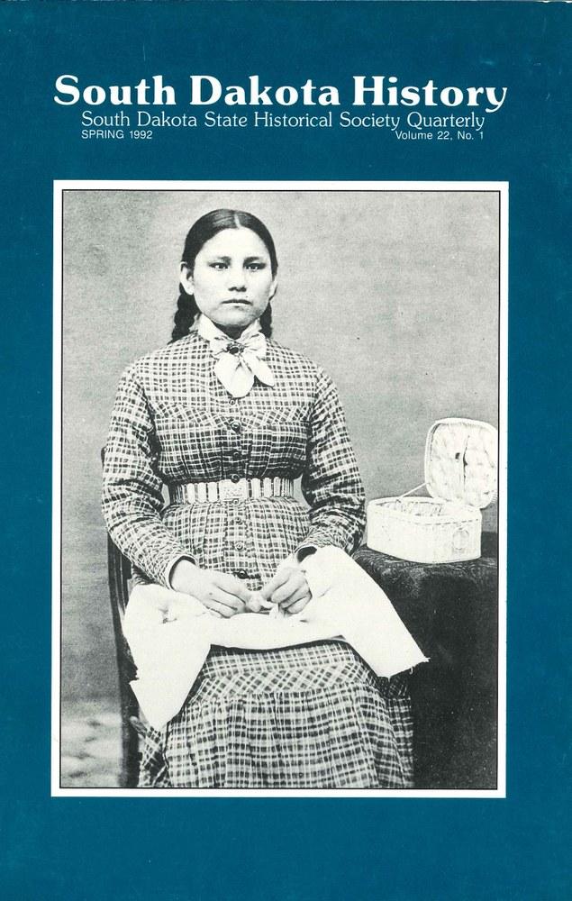 South Dakota History, volume 22 number 1