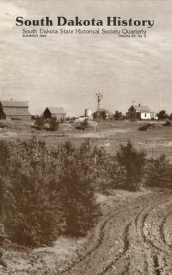 South Dakota History, volume 22 number 2