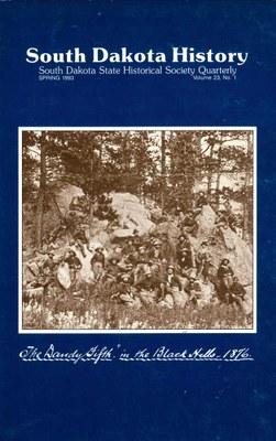 South Dakota History, volume 23 number 1