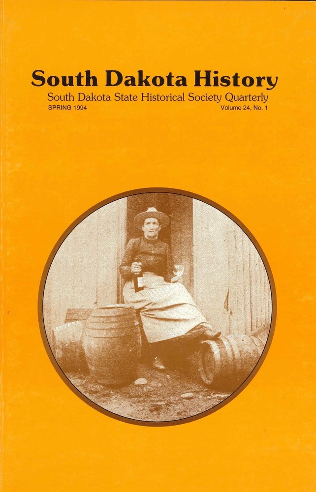 South Dakota History, volume 24 number 1