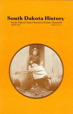 South Dakota History, volume 24 number 1