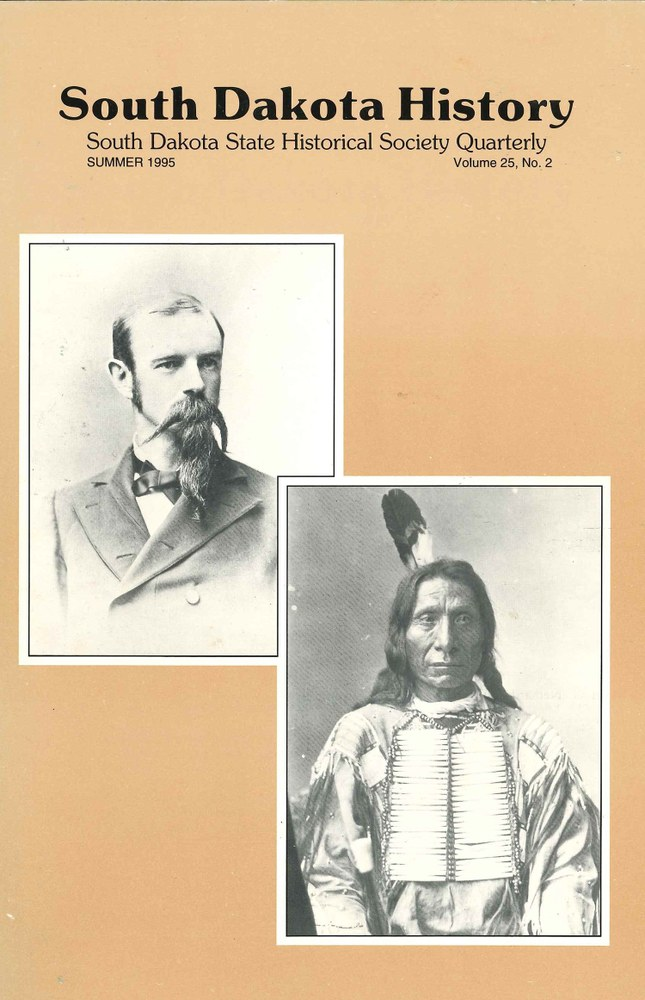South Dakota History, volume 25 number 2