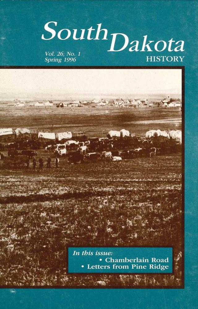 South Dakota History, volume 26 number 1