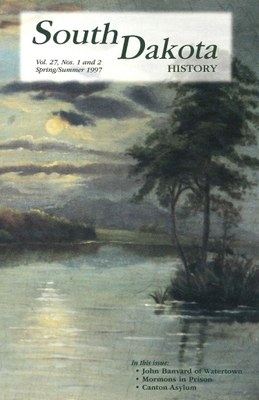 South Dakota History, volume 27 number 1