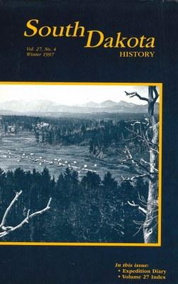 South Dakota History, volume 27 number 4