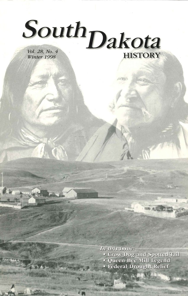 South Dakota History, volume 28 number 4