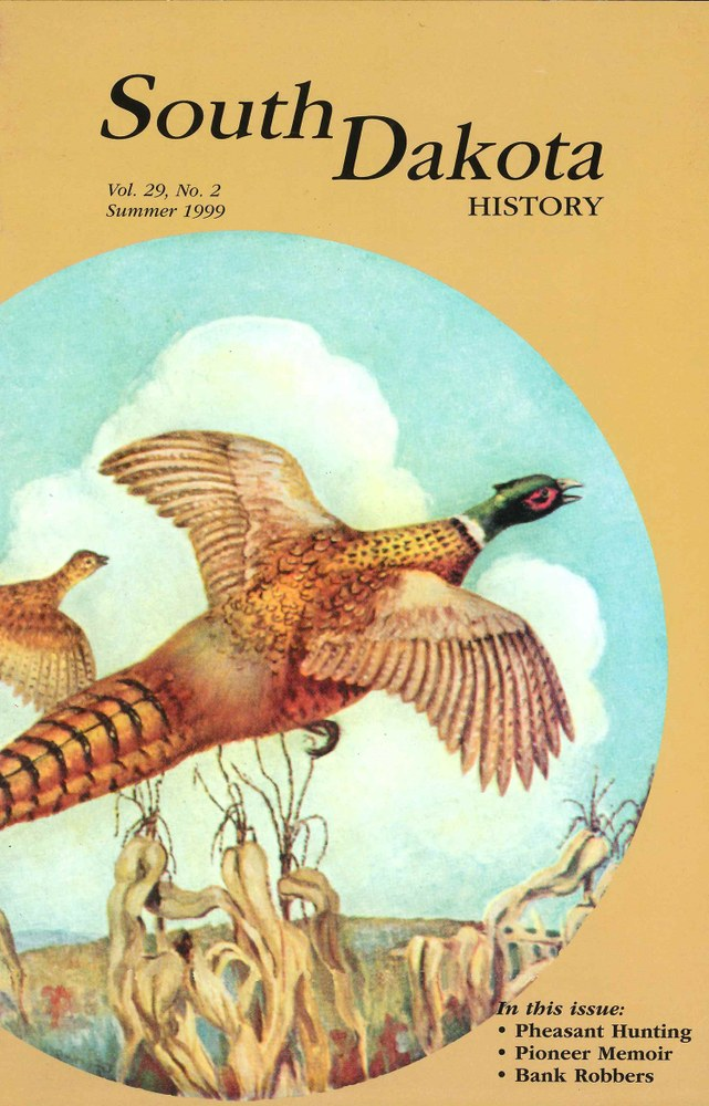 South Dakota History, volume 29 number 2