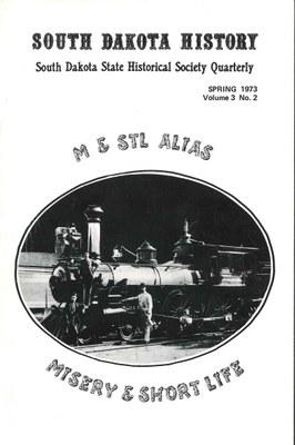 South Dakota History, volume 3 number 2