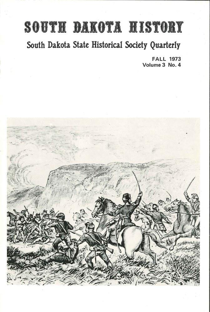 South Dakota History, volume 3 number 4