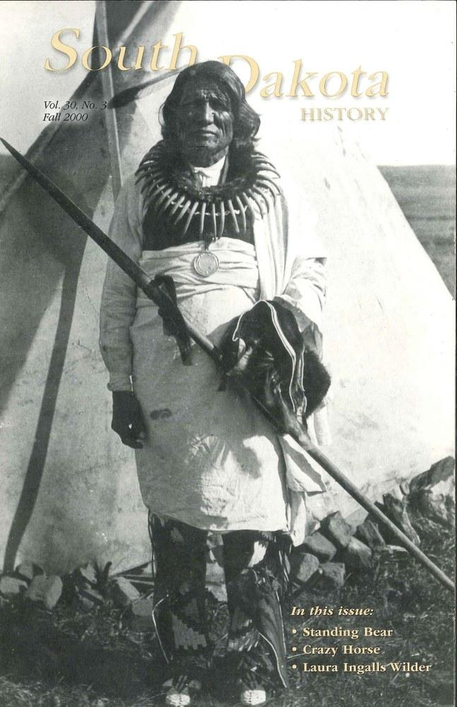 South Dakota History, volume 30 number 3