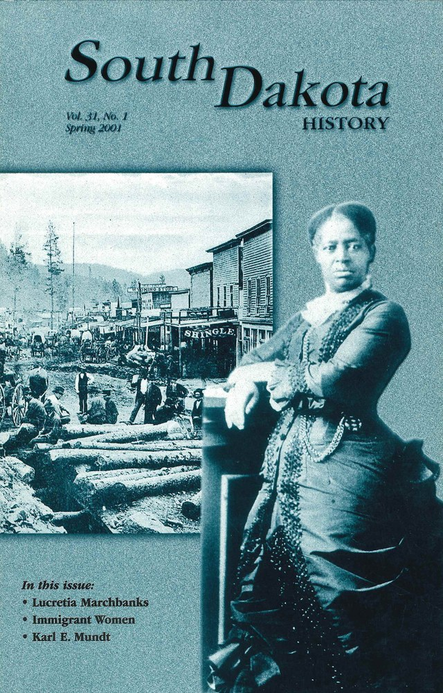 South Dakota History, volume 31 number 1