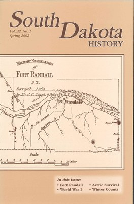 South Dakota History, volume 32 number 1