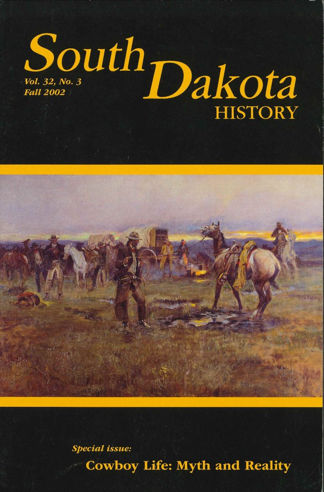 South Dakota History, volume 32 number 3
