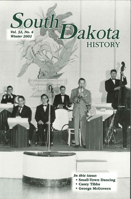 South Dakota History, volume 32 number 4
