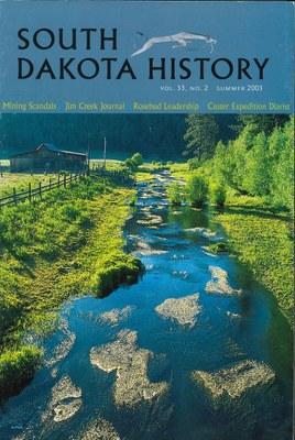 South Dakota History, volume 33 number 2