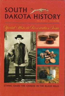 South Dakota History, volume 33 number 4