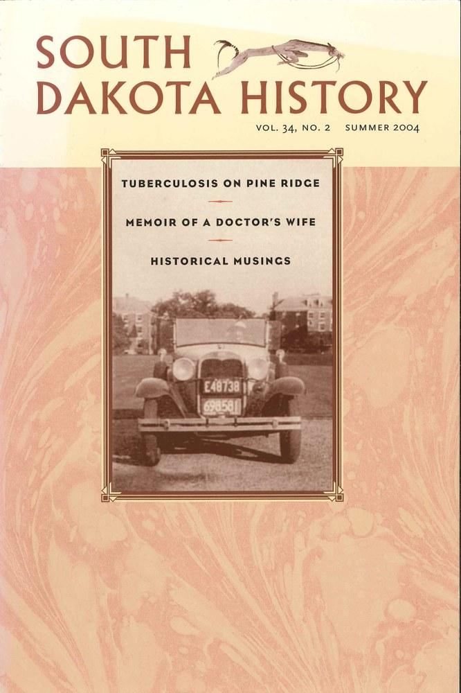 South Dakota History, volume 34 number 2
