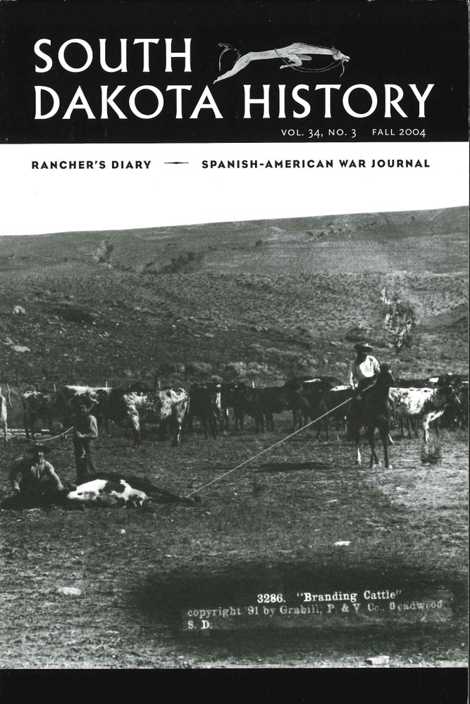 South Dakota History, volume 34 number 3
