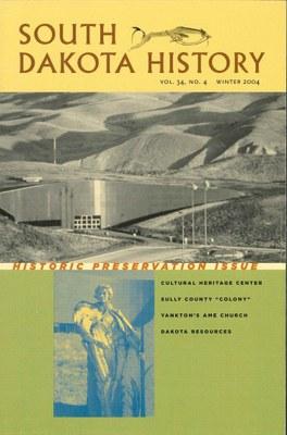 South Dakota History, volume 34 number 4