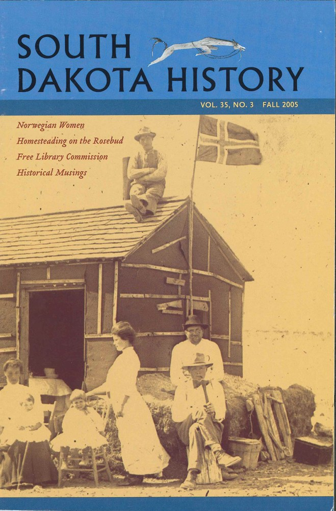 South Dakota History, volume 35 number 3