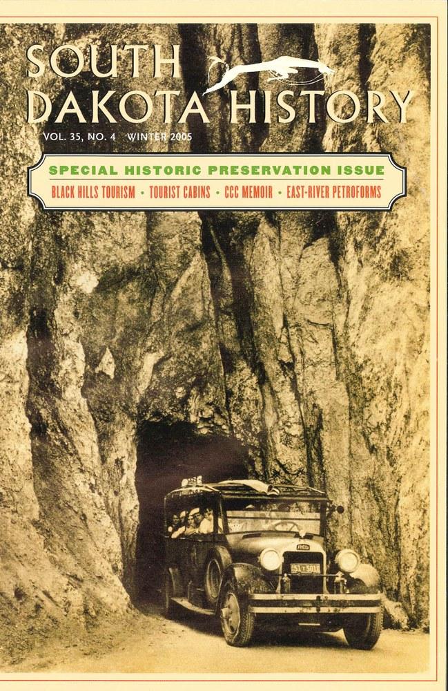 South Dakota History, volume 35 number 4
