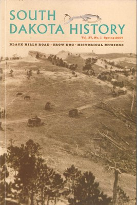 South Dakota History, volume 37 number 1