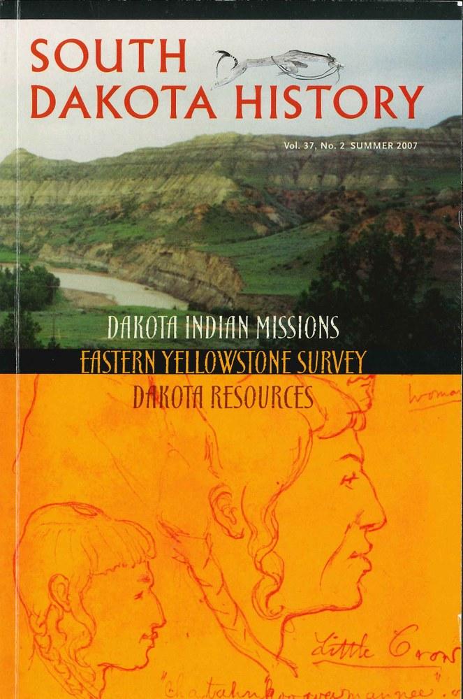 South Dakota History, volume 37 number 2